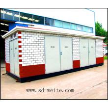 La sous-station européenne de transformateur de type boîte pour alimentation électrique
