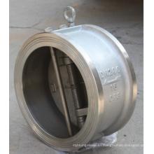 China Fábrica Wafer doble placa de 300 libras de la válvula de retención