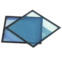 Benutzerdefinierte Größe Ocen Blue Tinted Toughened Hollow Glass