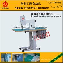 Machine à coudre ultrasonique de robe d'opération