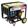 Open Frame Portable 1/3phase 5kw/6.5kVA Diesel Generator