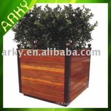 Jardinière en bois de jardin de bonne qualité
