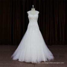 Сексуальная Скомканный Кушак Из Бисера Черный Цветок Свадебное Платье