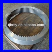 Anillo de gran diámetro engranaje ampliamente utilizado para la máquina