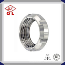Acier inoxydable Sanitaire Pipe Fitting Round Nut