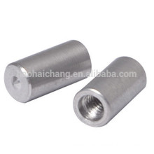 OEM Stainless Steel AISI304 M4 Thread CNC Turned Spot Weld Nut