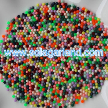 2MM 2.5MM 3MM Microbead Miniature Beads Acrylic Round Tiny No Hole Beads