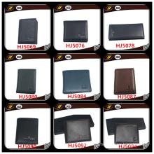 Carteira de couro feminina de venda popular para fornecedores de manufatura da China (HJ5071)