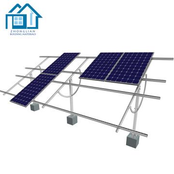 Soporte giratorio para montaje en panel solar giratorio de aluminio