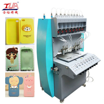 Full Automatic Silicon Mobile case Dispenser Machine