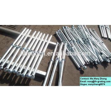 Feuerverzinkte Industrie-Stahl-Rungen