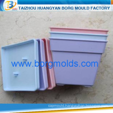 Thick multi-color plastic flowerpot mold/ injection mould