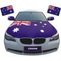 Индивидуальная реклама, национальная автомобильная отделка, крышка капота двигателя