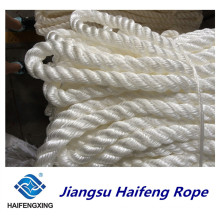 Polypropylene, Polyester Mixed Three Strands Rope Mooring Rope