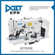 Overloque industrial em linha reta botão holing máquina de costura DT783NV