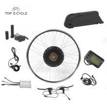 Amusant DIY europe 28 pouces électrique roue avant convension kit de vélo avec batterie
