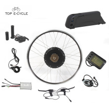 Fun DIY europe 28inch electric front wheel bike convension kit with battery
