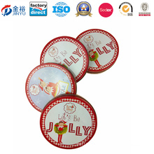 Round Shaped Metal Christmas Gift for Promotion Gift