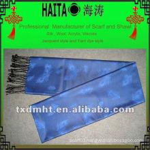 Jacquard silk scarf HTC213-2