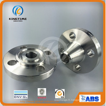 ASTM A182 ANSI B16.5 304L 316L coulée bride en acier inoxydable Wn bride (KT0340)