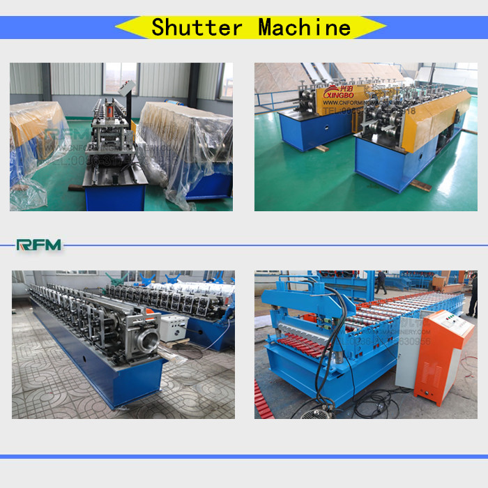 rolling shutter door slat machine cold machine