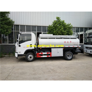 Camions-citernes de transport d'essence SHACMAN 2500L