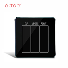 ACTOP new design Smart hotel switch socket 2018