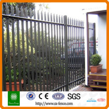 D or W style palisade fence