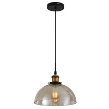 Nordic creative simplified art single head pendant lamp