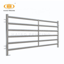 high quality heavy duty china galvanized portable metal sheep goat corral yard fence panel for livestock