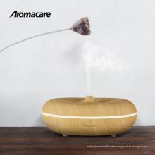 2018 Nuevos Invenciones Acabado de Madera Aromaterapia Aceites Esenciales Difusor Mini Nebulizador Nebulizador Ultrasónico