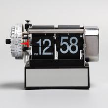 Small Black Alarm Flipping Clocks For Decor