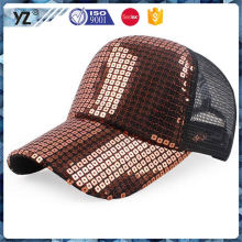 Factory direct sale low price trucker hat with skull design for promotion