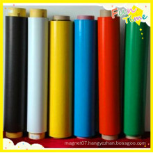 Surface Release Paper PVC Colorful Flexible Rubber Magnets Roll