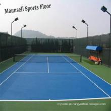 Pavimento de esporte de tênis de vinil de boa qualidade