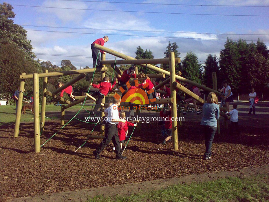 children's climbing outdoor playground