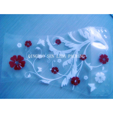 Customize Beautiful Printed Plastic Flower Vase Bag