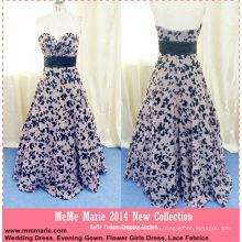 Шифон черный цветок с милая длинные вечернее платье выкройки платье для мамы баю-14062