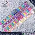 Art und Weise flache Silikon-elektronische Sport-Digital-Armbanduhr