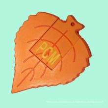 Unidad modificada para requisitos particulares al por mayor de la pluma de destello del PVC del USB 2D y 3D para los regalos promocionales