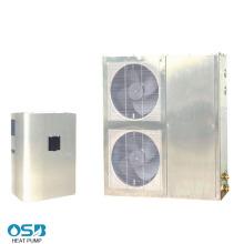 Luft-Wasser-Wärmepumpe aus Edelstahl