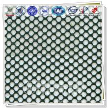 Tecido de malha desportiva permeável ao ar para interlining e revestimentos