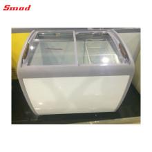 Congelador de puerta única que enfría el congelador de cofres horizontal hecho en China