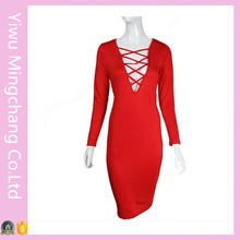 Plus Size Adult Hot Sexy Night Club Dress (Dress 153)