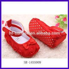 SR-14SS009 nuevos zapatos de bebé de la venta al por mayor de la manera con estilo zapatos de bebé baratos baratos de la importación de los zapatos de bebé baratos baratos de la importación China