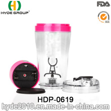 Customized 500ml BPA Free Plastic Electric Shaker Bottle (HDP-0619)