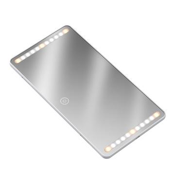 Neuer Kosmetikspiegel mit Licht LED Einstellbare Farbe