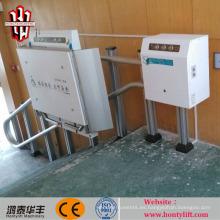 elevador de silla de ruedas inclinable equipo de elevación fácil para discapacitados ascensor de escalera
