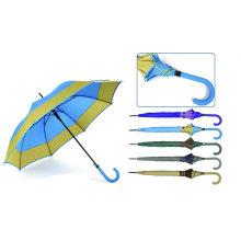 Border Design automatische gerader Regenschirm (YS-SA23083929R)