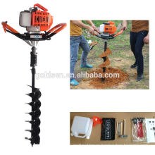 52cc 1700w Hand-Held Manual Fence Post Hole Digger Drilling Machine Portable Ground Hole Drill Earth Auger